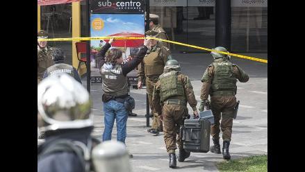 Las primeras imágenes del atentado en Chile