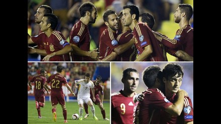 España vs. Macedonia: Así golearon los de Del Bosque por la Euro 2016