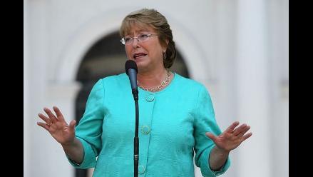 Bachelet: ´No nos temblará la mano frente a actos cobardes´