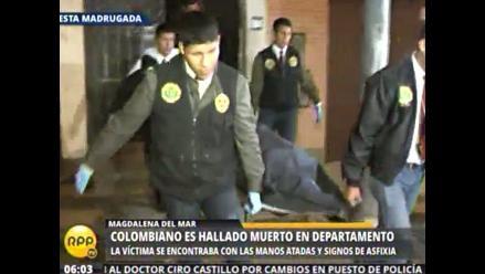 Ciudadano colombiano es hallado muerto con las manos atadas en Magdalena