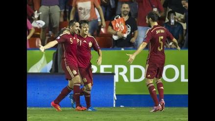 Selección de España no marcaba de a cinco desde el 10-0 ante Tahití en 2013
