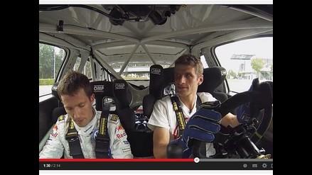 Campeones del mundo Thomas Muller y Ogier se retan en fútbol y rally