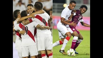 Revive en imágenes el triunfo de Perú sobre Qatar en amistoso