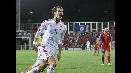 Euro 2016: Gales venció 2-1 a Andorra con golazo de Gareth Bale