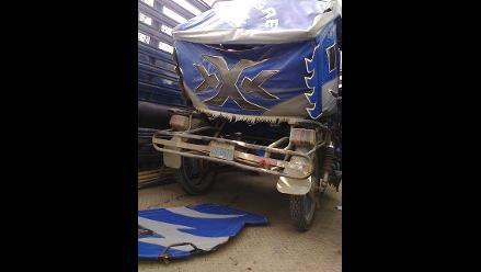 Pisco: un mototaxista muere al chocar su vehículo contra un camión