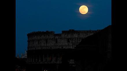 Esta noche podrá verse una superluna