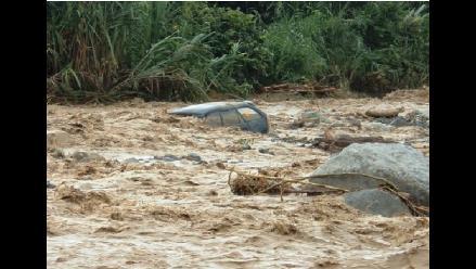 Cusco: río Chalquimayu se desborda en Quillabamba