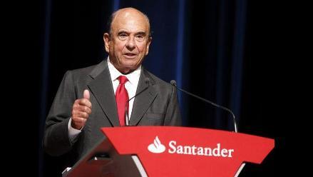 Falleció Emilio Botín, presidente del Grupo Santander