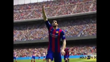 Mira cómo se celebran los goles en FIFA 15