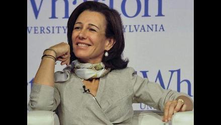 Ana Patricia Botín fue nombrada nueva presidenta del Banco Santander