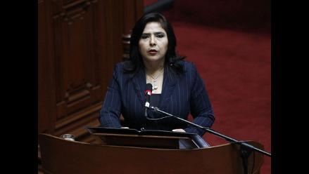 Ejecutivo sustentó Presupuesto General ante el Congreso
