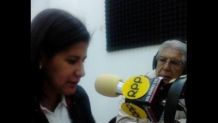 Cajamarca: Rosa Florián ofreció cumplir con deuda social a docentes