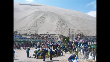 Arequipa: derrame de relave minero afecta cultivos y río en Orcopampa