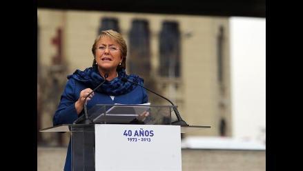 Bachelet: reforma tributaria permitirá combatir desaceleración económica