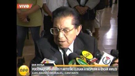 Luis Abanto Morales será distinguido por la U. Garcilaso de la Vega