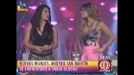 Vania Bludau y Andrea San Martín ¿enemigas a la vista?