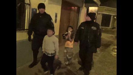 Huancayo: dos menores fugaron de sus hogares por evitar castigos