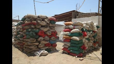 Chiclayo: decomisan 40 toneladas de sal en operativo