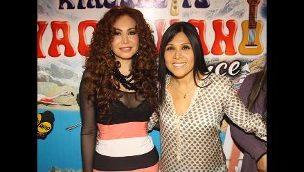 Tula Rodríguez y Janet Barboza tuvieron esperado encuentro
