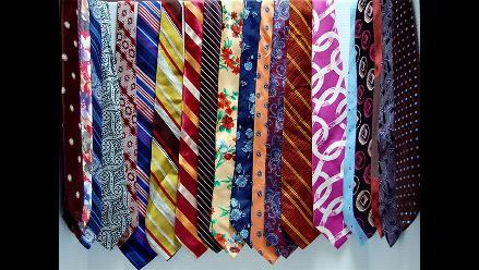¿Usas corbata? Entérate qué mensajes envían los colores que llevas