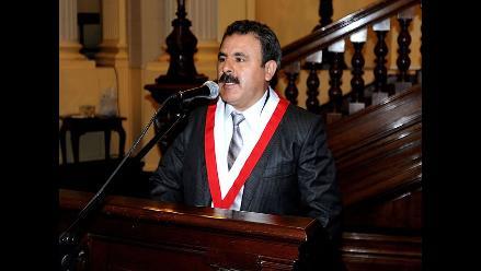 Congreso rechazó pedido de sanción para Jorge Rimarachín