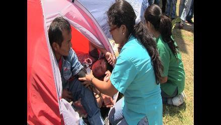 Docente y alumno de Universidad de Pasco acatan huelga de hambre