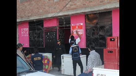 Cajamarca: intervienen tres locales donde se ejercía la prostitución