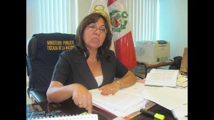 Chiclayo: piden salida de presidenta de fiscales Carmen Miranda
