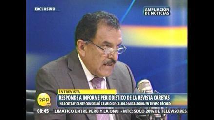 Edgar Reymundo rechazó denuncia en su contra
