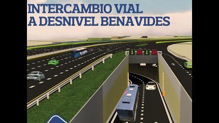 En octubre construirán intercambio vial con túnel en Benavides