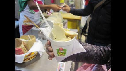 Mistura 2014: helado de quinua en menos de un minuto