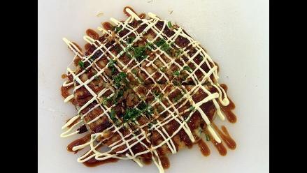 Pizza Okonomiyaki: el oriente y occidente en uno solo