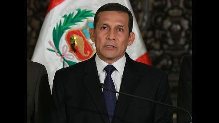 Presidente Humala: Urresti no quiere faltarle el respeto al periodismo