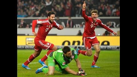Claudio Pizarro: Bayern Munich derrotó 2-0 a Stuttgart por la Bundesliga