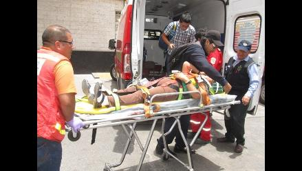 A 17 aumenta el número de heridos en accidente en La Oroya