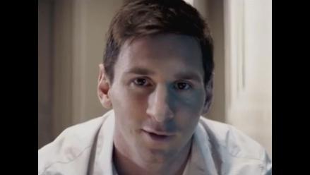 Lionel Messi protagoniza anuncio de TV de FIFA 15