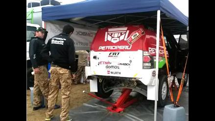 Dakar Series: Auto de Nicolás Fuchs no se reparó y abandona segunda etapa