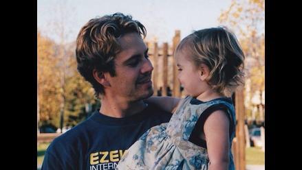 La hija de Paul Walker le rindió homenaje al actor por su cumpleaños