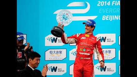 Fórmula E: Lucas di Grassi se llevó la primera carrera de la historia