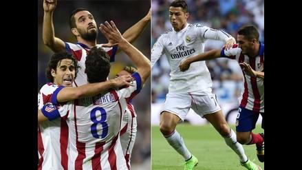 Revive en imágenes el triunfo de Atlético de Madrid sobre Real Madrid