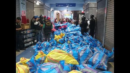 Policía incauta cientos de CD y DVD piratas en Polvos Azules