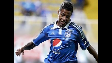 Andy Polo marcó su primer gol en derrota del Millonarios de Colombia