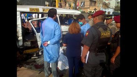 Arequipa: hallan a camionero muerto tras caer de siete metros de altura