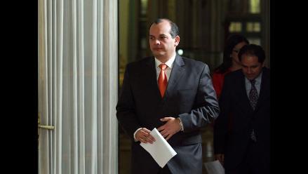 Luis Castilla tras su renuncia: Seguiré apoyando al presidente Humala