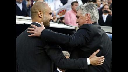 Champions: Ancelotti, Mourinho y Guardiola únicos campeones en esta edición