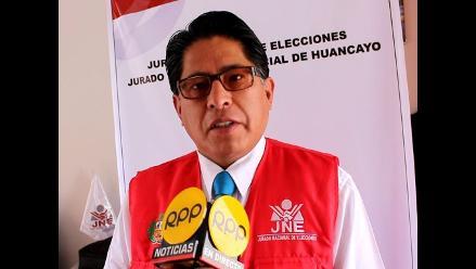 Huancayo: JEE pide uniformidad de criterios en resoluciones impugnadas