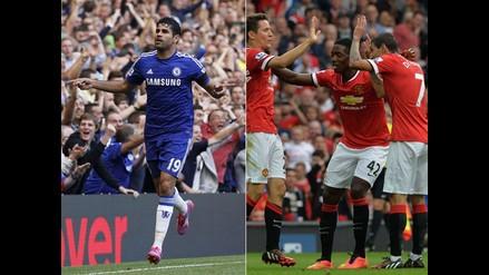 Premier League: Diego Costa hace historia y United ganó gracias a Di María