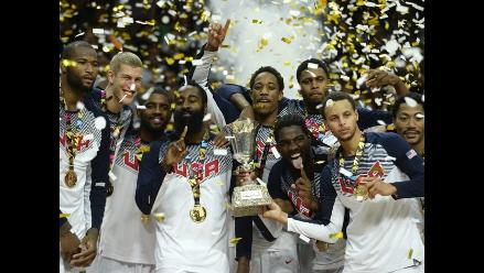 Mundial de Baloncesto: Estados Unidos vence a Serbia y gana medalla de oro