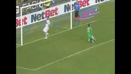 Parma vs. AC Milan: Diego López y el increíble blooper que le costó un gol
