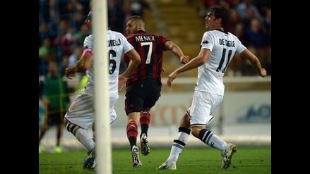 Jérémy Menez marcó un gol de otro planeta en la victoria del AC Milan